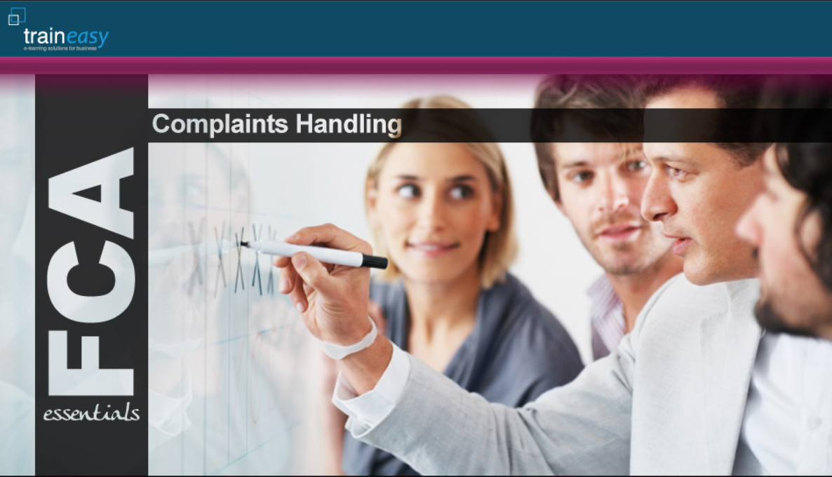 Complaint Handling Front page