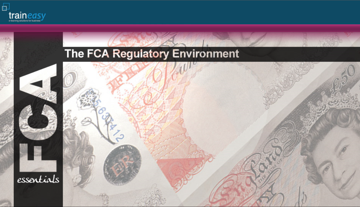 FCA Reg Environment Front Page