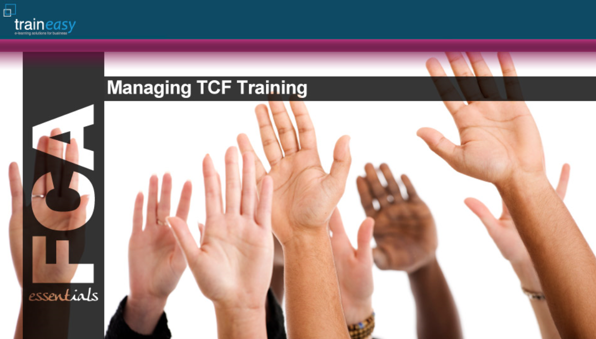 TCF Managing front page